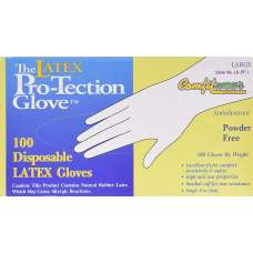 Disposable Latex Gloves Size L (box 100)