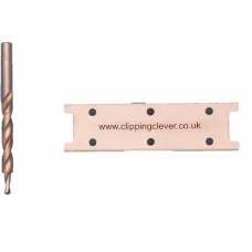 Clipping Clever Rail drill guide & Stepped drill bit pack
