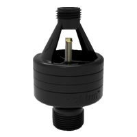 hotun dry trap tundish - black HB100C + Nut & Olive