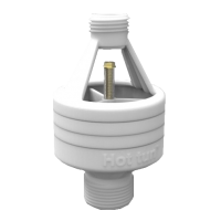 hotun dry trap tundish - white HW100C + Nut & Olive
