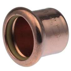 22mm Pressfit Gas Stop End