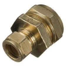 Compression Brass Reducer 22mm X 15mm