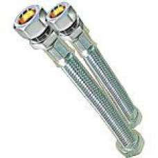 "Flexi Tap Conn ""short"" 15mm X 1/2"" 150mm Long"