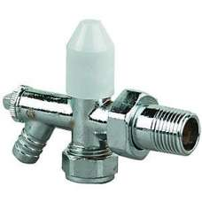 "Angle Rad Valve C/w Do 8mm X 1/2"" (3/4"" Nut)"