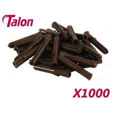 Talon Brown Plugs (box 1000)