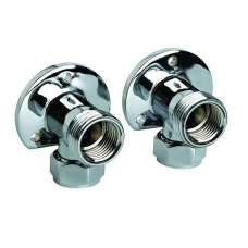 15mm Chrome Surface Mounted Elbows