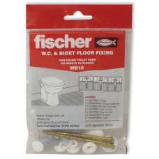 Fischer Wb10 Wc Pan To Floor Fixing Set
