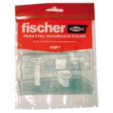 Fischer Wpb1 Washbasin With Ped Fixing Set