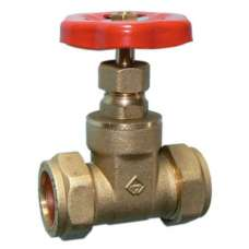 15mm Brass Gate Valve Compression