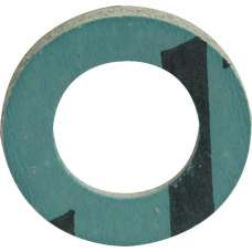 Green Fibre Washer 3/8""