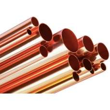 15mm Copper Tube 1 Metre Piece