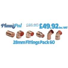 28mm Fittings Pack 60