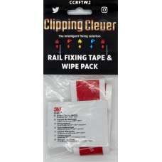 Clipping Clever Rail Fixing Tape & Wipe