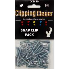 Clipping Clever Snap Clip Pack 15-22mm - Pack of 50
